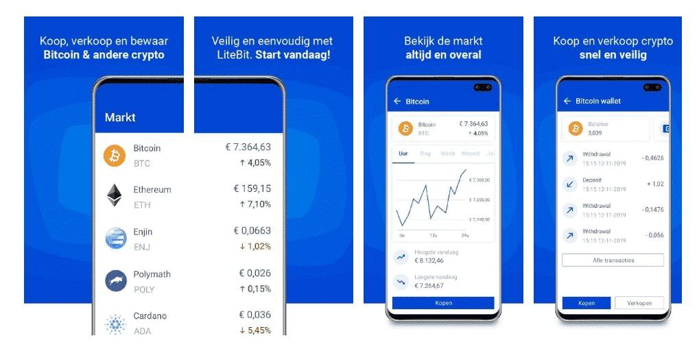 Litebit app Crypto, cryptocurrency app
