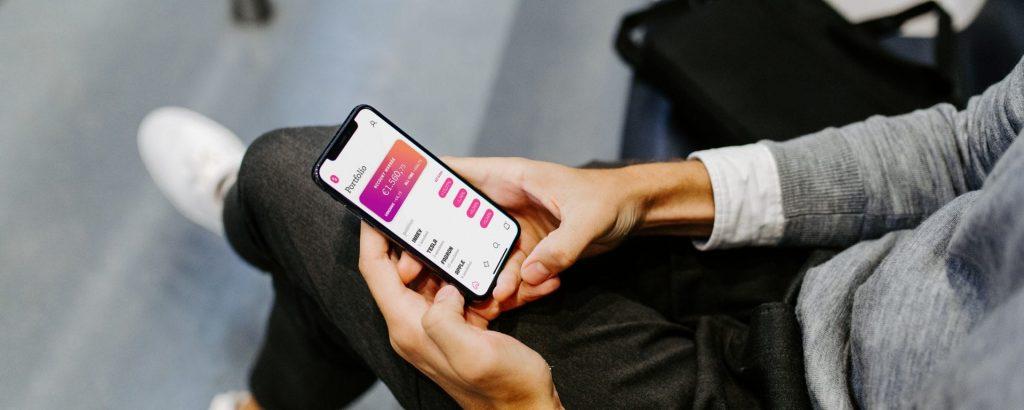 Mobiel Beleggen app, beste aandelen app, beste beleggingsapp, online beurs app voor beginners