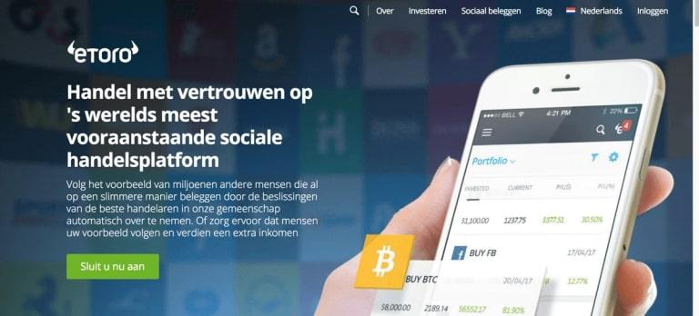 etoro app, social trading app, copy trading app